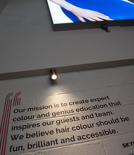 expert hair colour and genius education