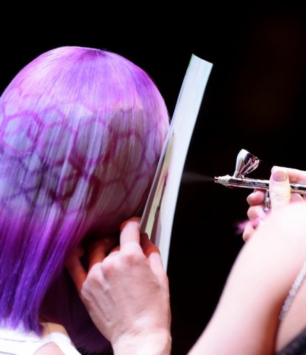Le Cigale Paris Purple Hair